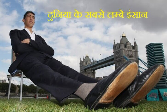history about world tallest men in hindi