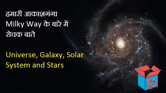 milky way in hindi