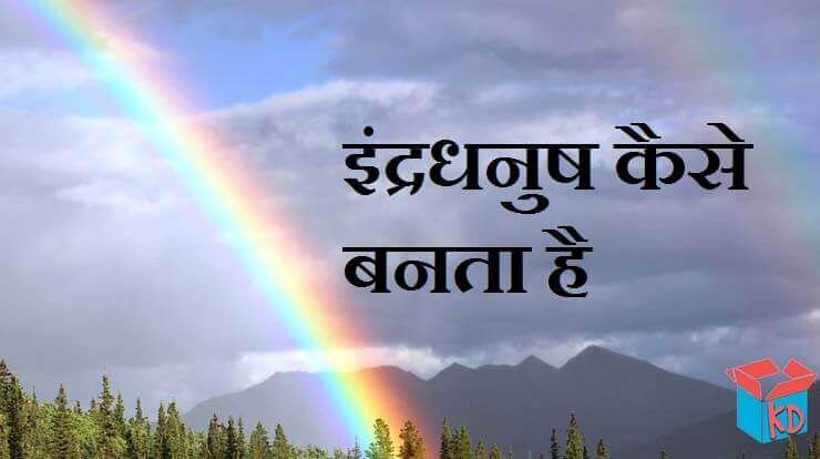 Information About Rainbow In Hindi