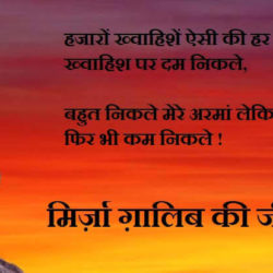 Biography Of Mirza Ghalib In Hindi