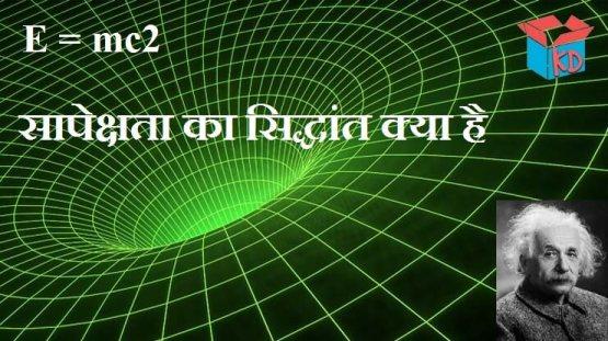 Theory Of Relativity In Hindi
