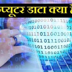What Is Data In Hindi