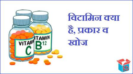 What Is Vitamin In Hindi