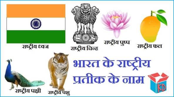 Indian National Symbols In Hindi
