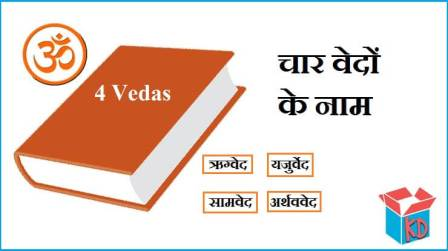 Name Of Vedas In Hindi