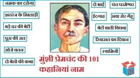 Stories Of Munshi Premchand In Hindi